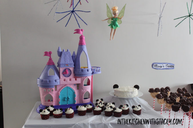 A Magic Kindom Birthday Party complete with Tinkerbell, Fireworks, Castle, Tiki Room, Fantasy Land, Main Street USA, and Disney Treats!