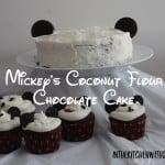 Mickey's Coconut Flour Chocolate Cake