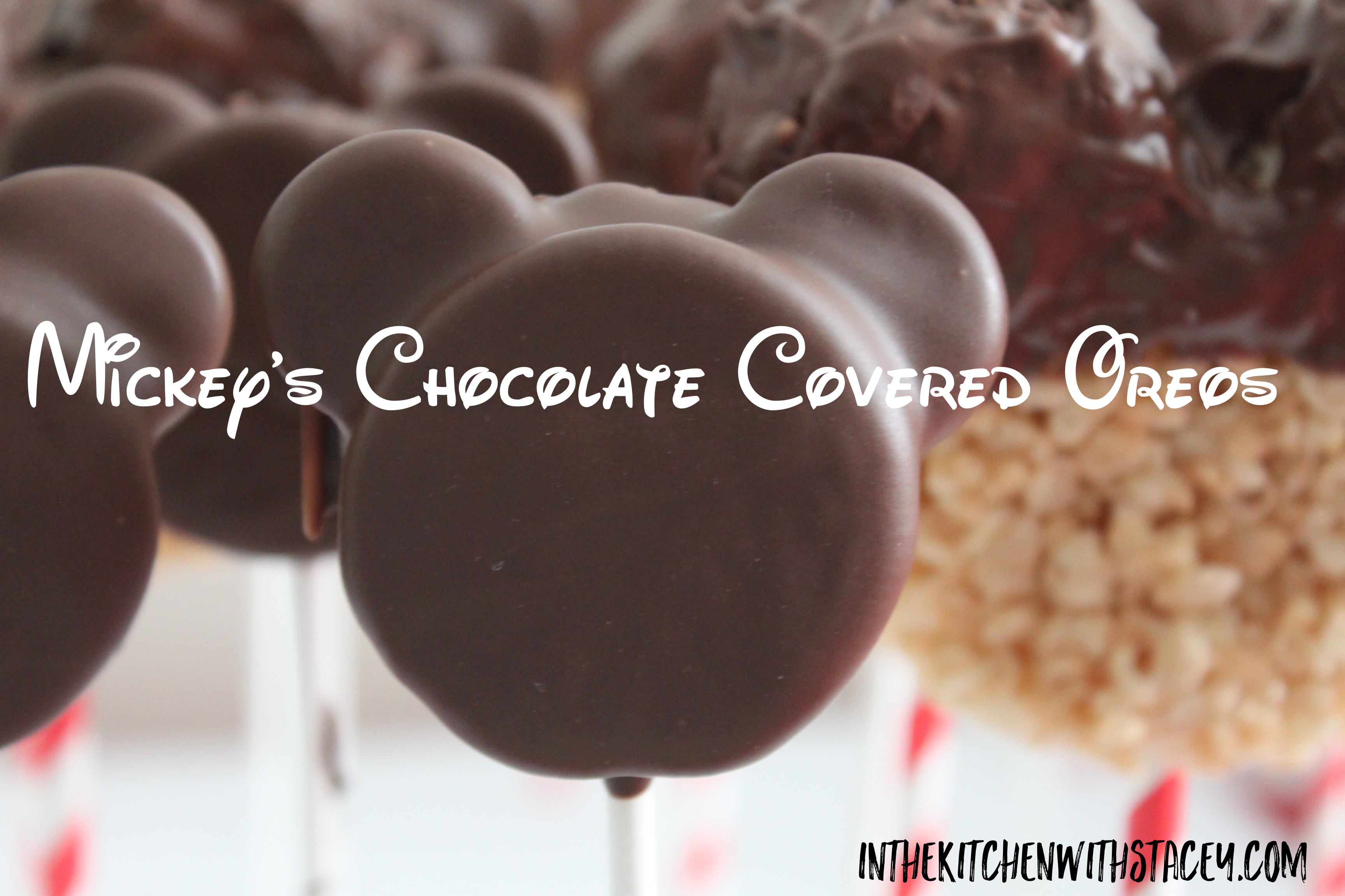 Mickey's Chocolate Covered Oreos