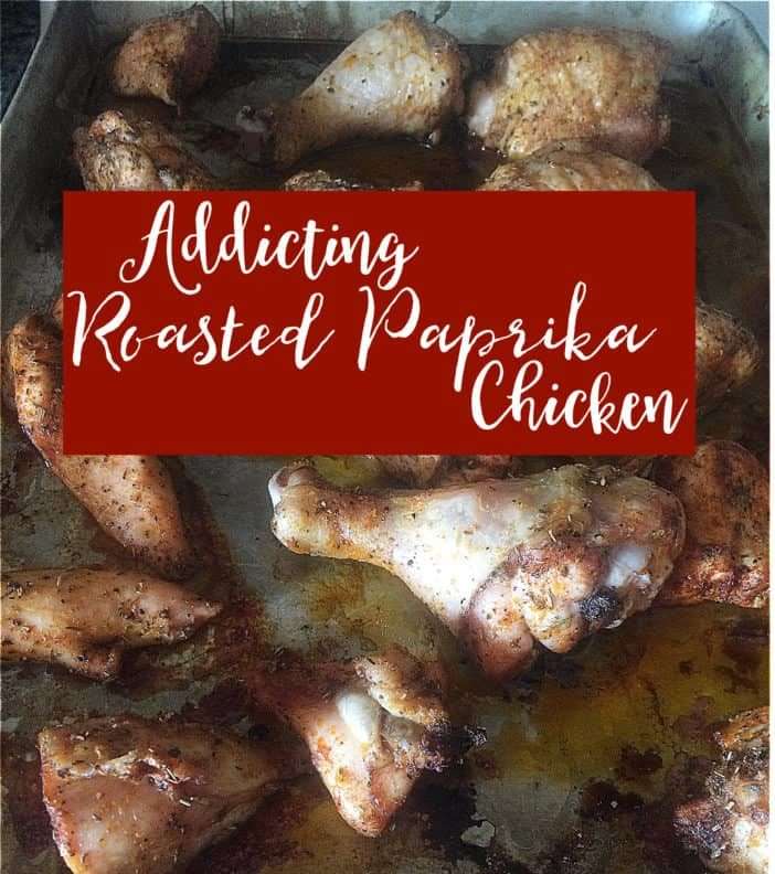 This Roasted Paprika Chicken is so simple to make while being addicting and delicious.