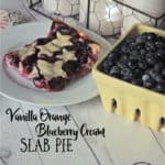 vanilla orange blueberry cream slab pie
