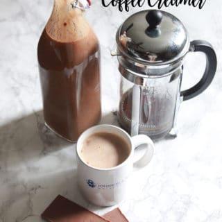 vegan mounds bar coffee creamer