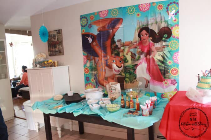 Elena of Avalor Birthday Party