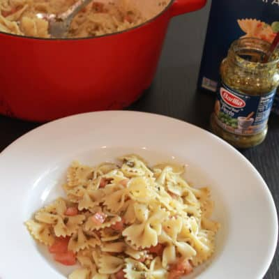 Pasta with Tomato Concassé