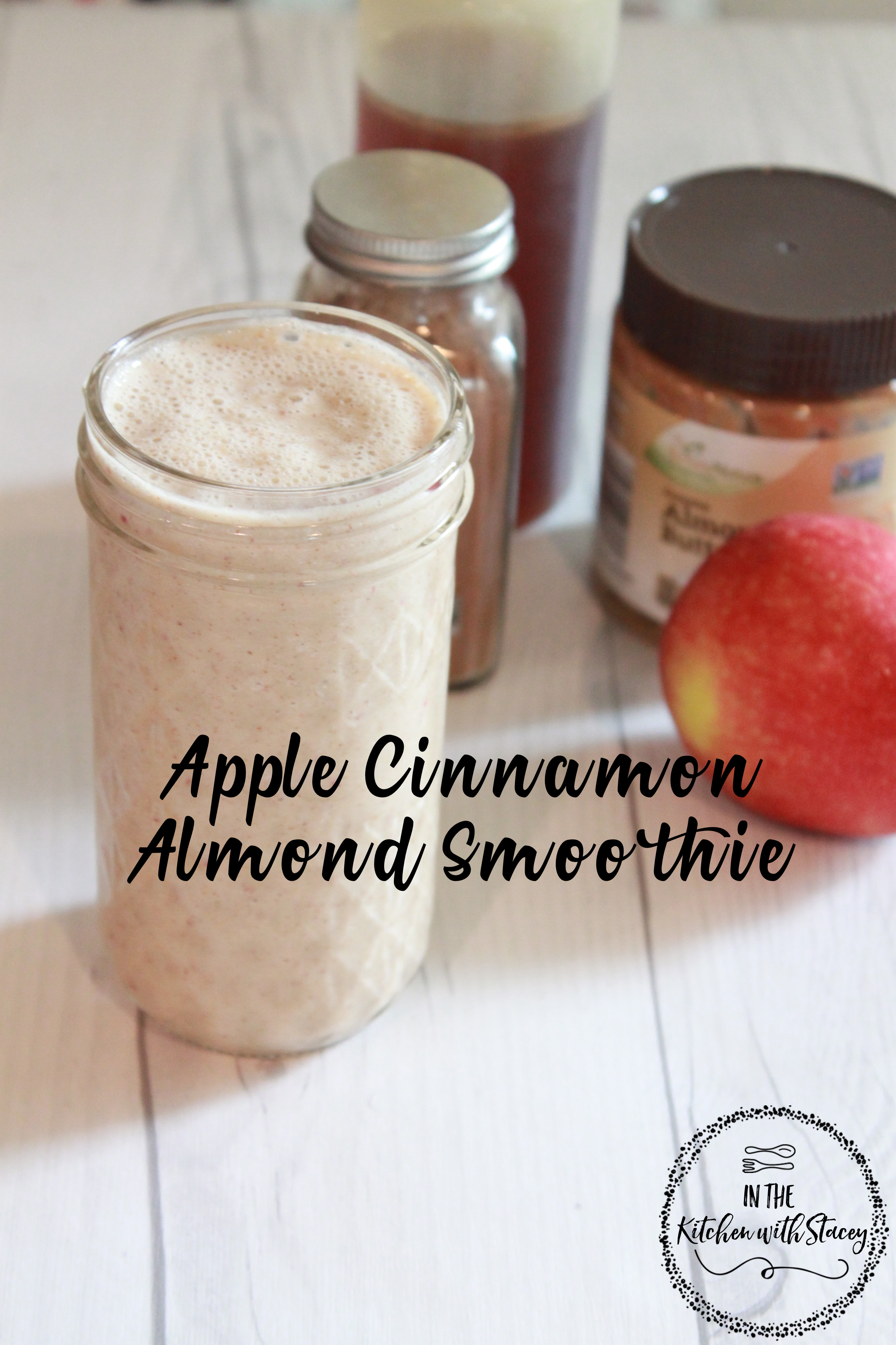 Apple Cinnamon Almond Smoothie