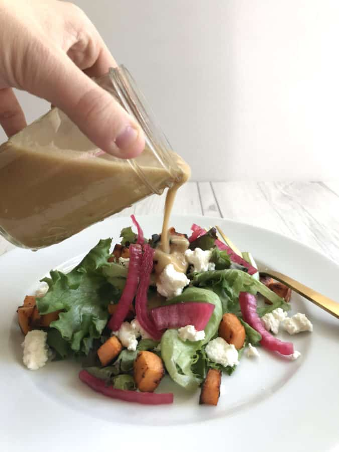 brown butter vinaigrette