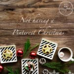 I don't know about you, but this year I am doing Christmas differently, I'm not doing a Pinterest Christmas.