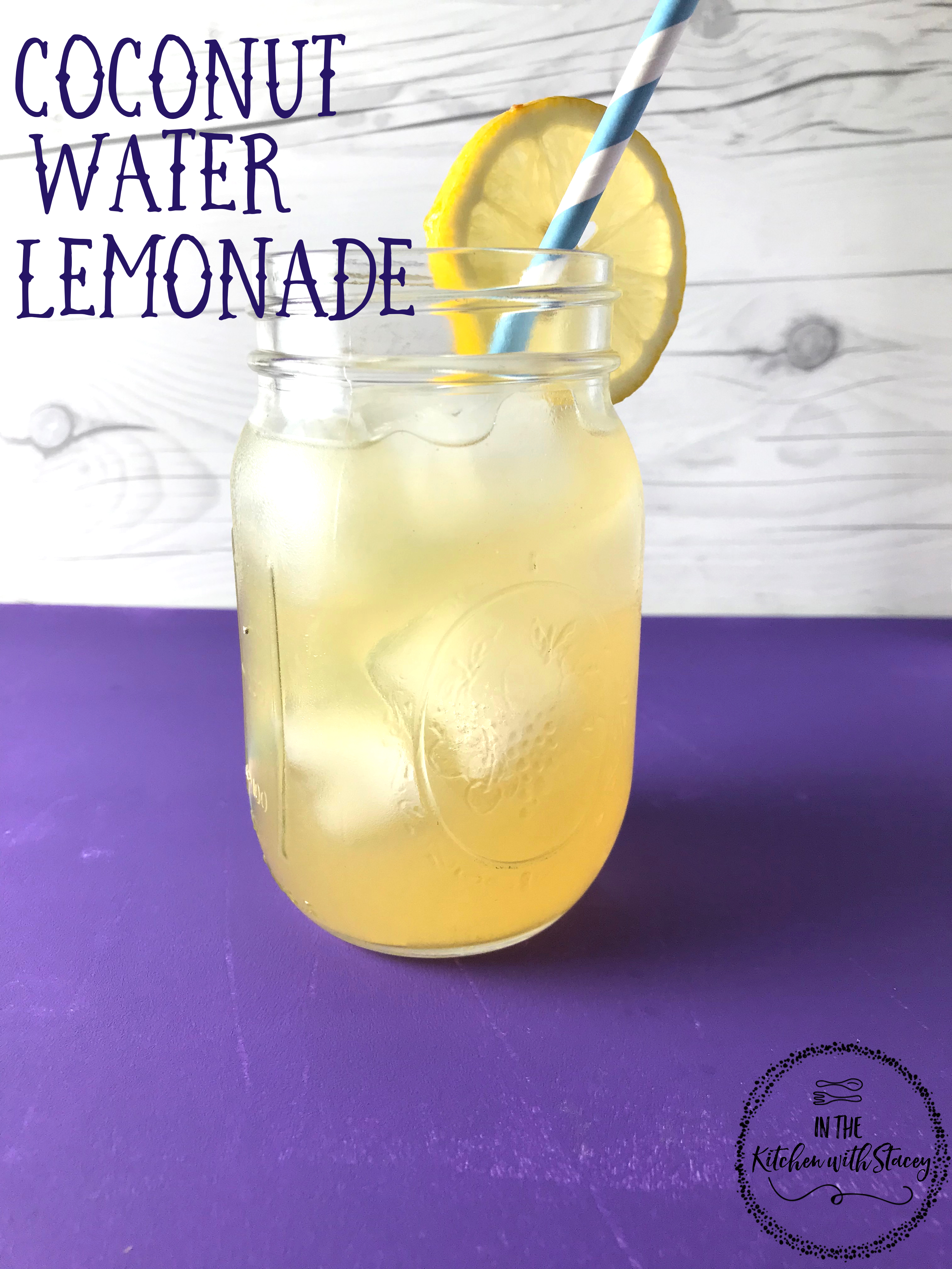 coconut water lemonade