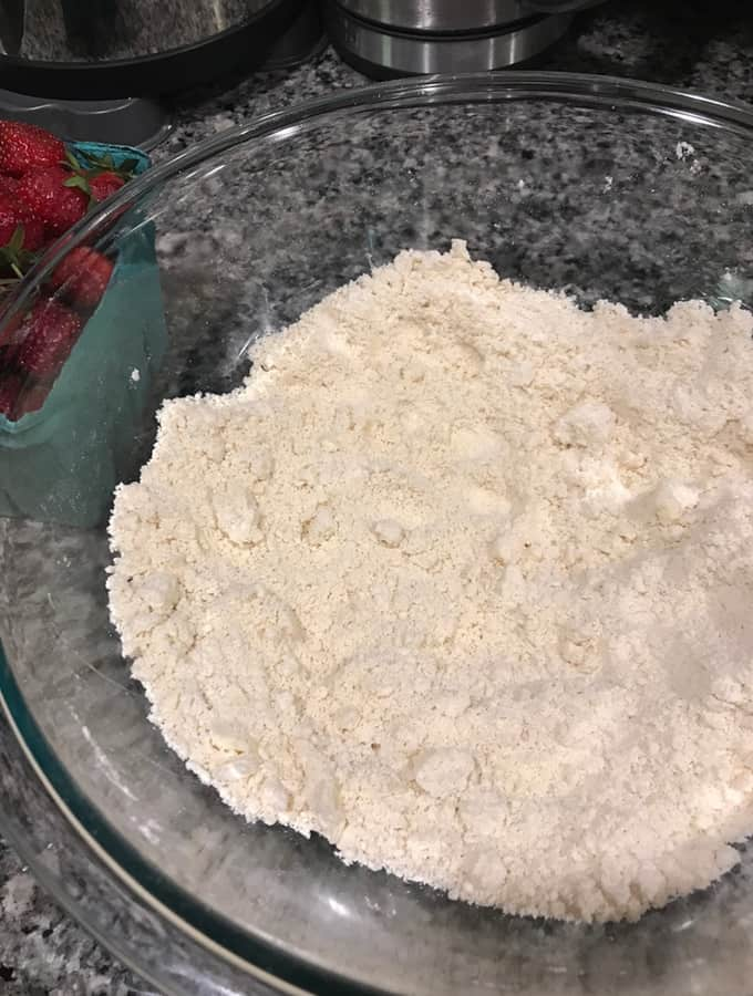 This strawberry shortcake recipe tastes just like Grandma made it, but with some updates with sprinkling sugar, vanilla beans, and fresh strawberries.