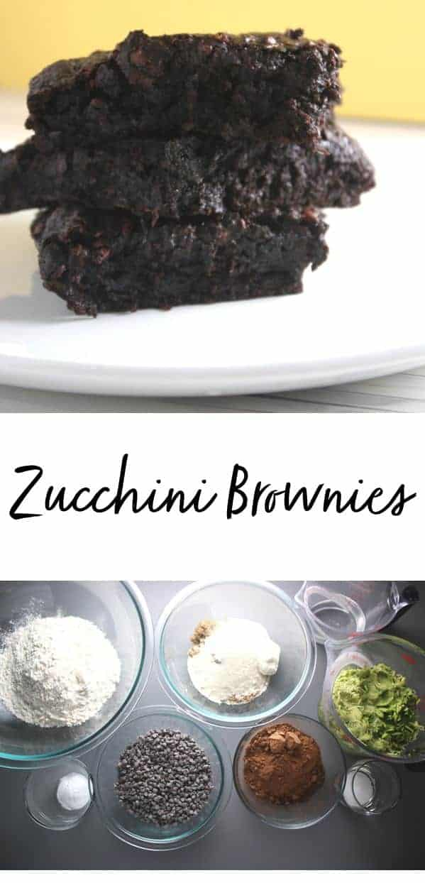 These zucchini brownies are so decadent you will forget that they are also a little healthy too!