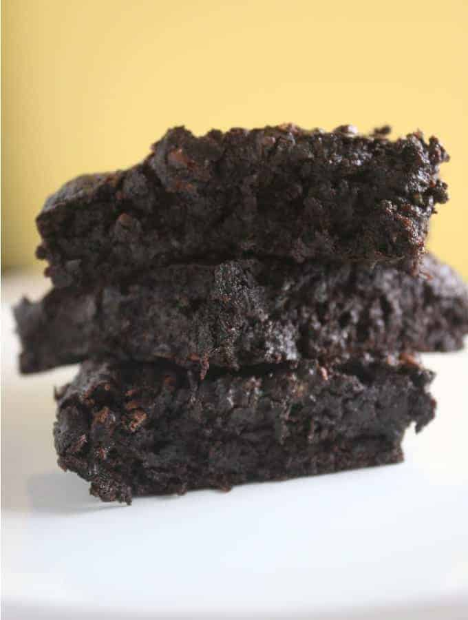 These zucchini brownies are so decadent you will forget that they are slightly healthy!