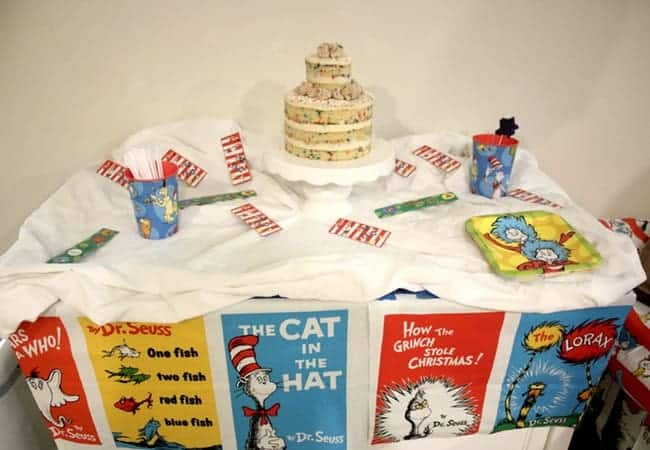 You are invited to our Dr. Seuss Birthday Party complete with green eggs and ham, pink ink drink, and a milk bar style birthday cake