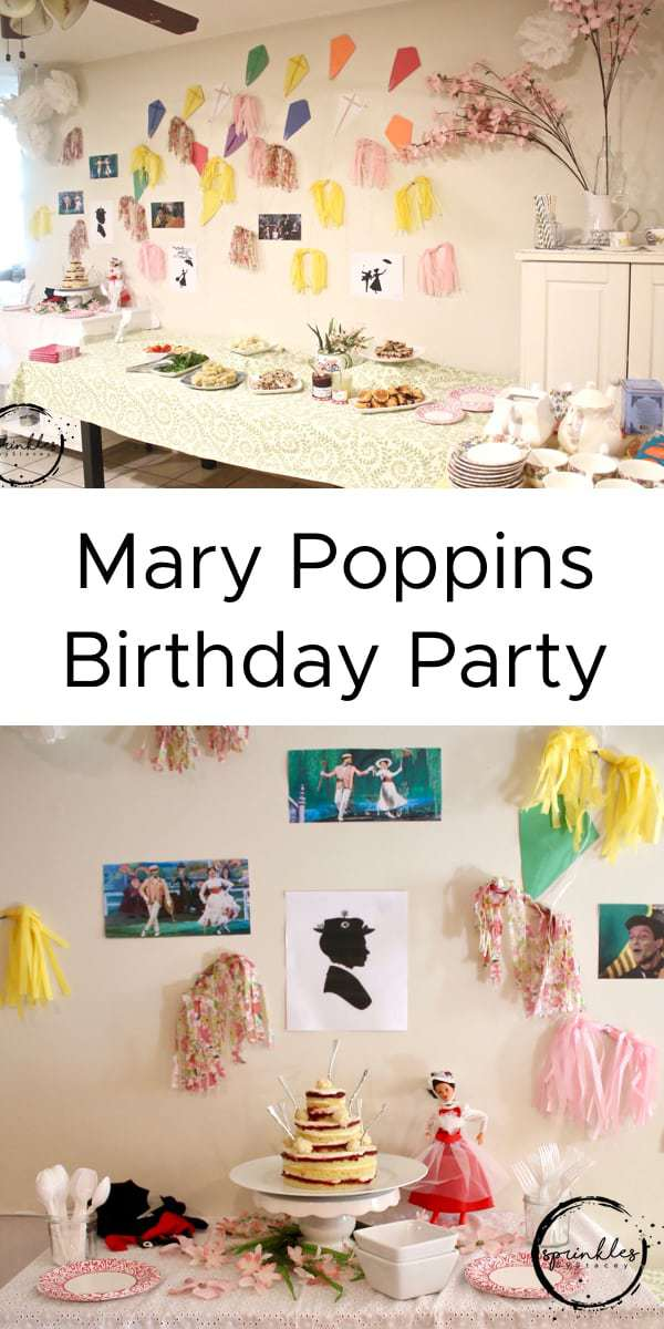 Come fly a kite at our Mary Poppins birthday party