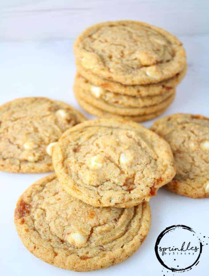 Caramelized Pecan White Chocolate Cookies